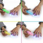 Mobiele mini Uv Led Lamp Nageldroger Voor Gel Nagels